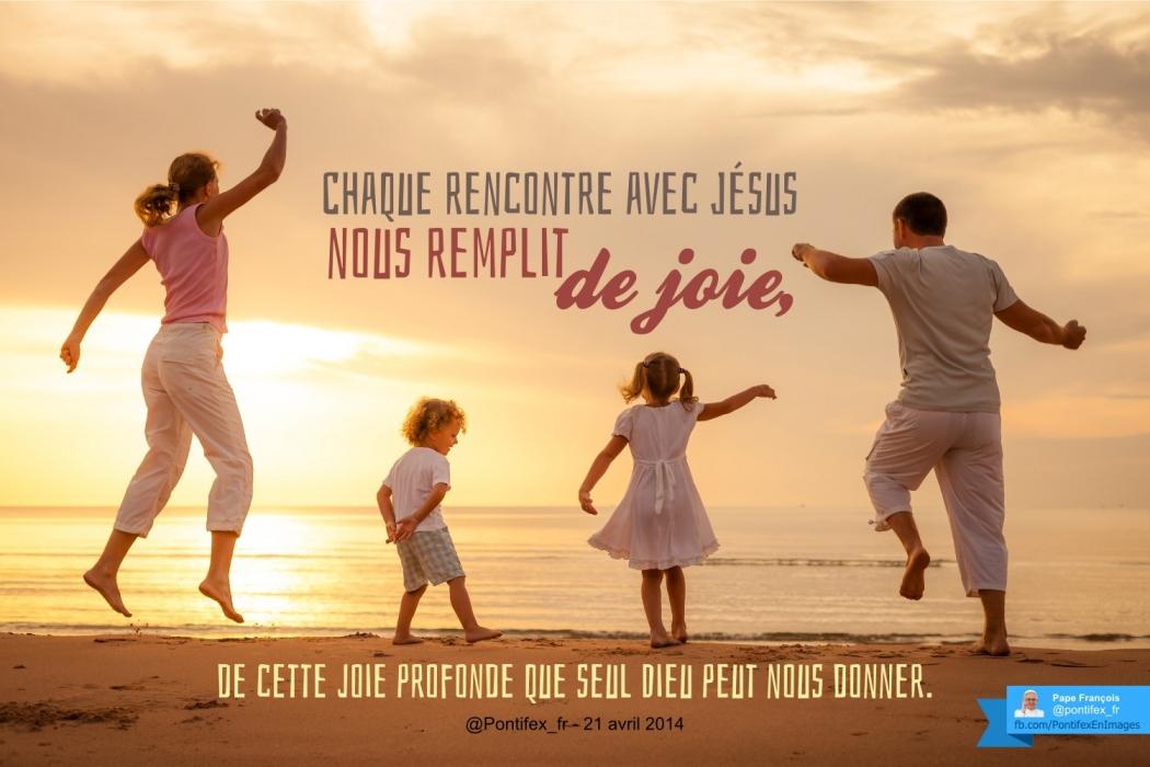 Une retraite spirituelle nous remplit de joie