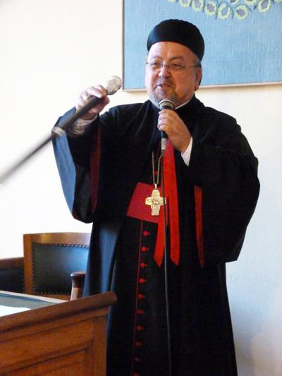 Mgr Samir NASSAR archevêque maronite de Damas