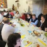 Engagement de Colette au Foyer de Charité de Baye, Déjeuner