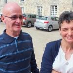 Engagement de Colette, famille et invités