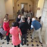 Engagement de Colette au Foyer de Charité de Baye, Accueil