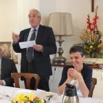 Engagement de Colette au Foyer de Charité de Baye, Toast