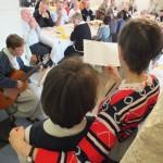 Engagement de Colette au Foyer de Charité de Baye, Chant