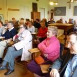 Lundi de Pentecôte 2013, conférence au Foyer de Charité Baye