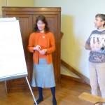 Dans une réunion Comm Foyers Baye et Combs, 14 fév. 2014