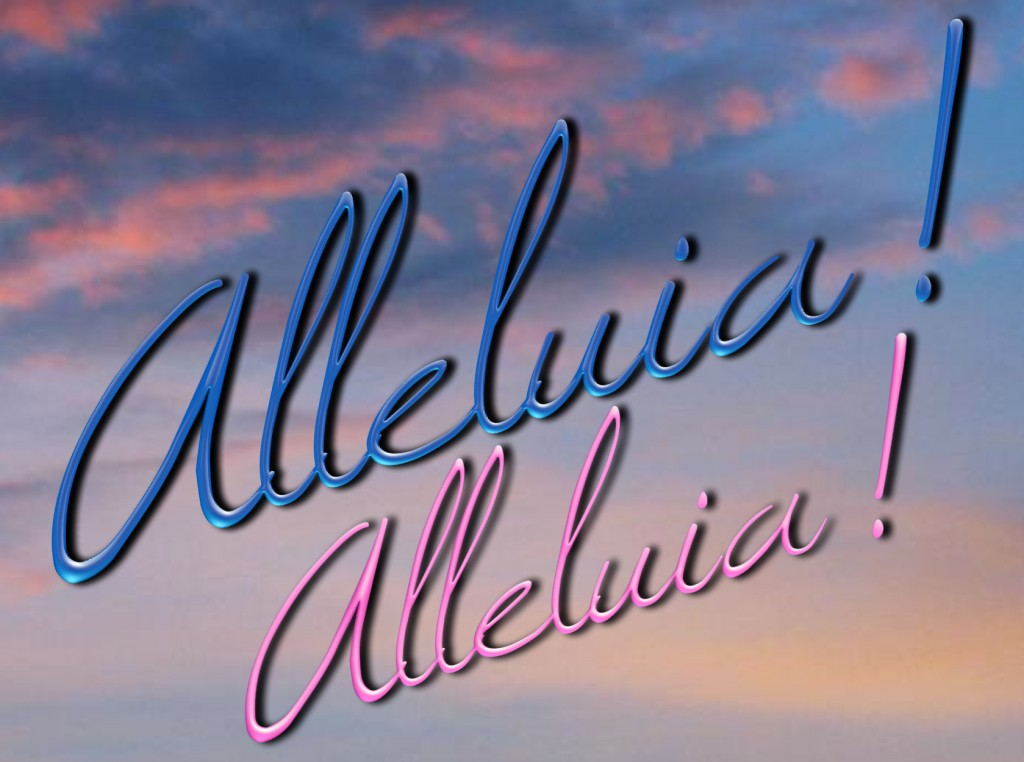 Sing ALLELUIA !