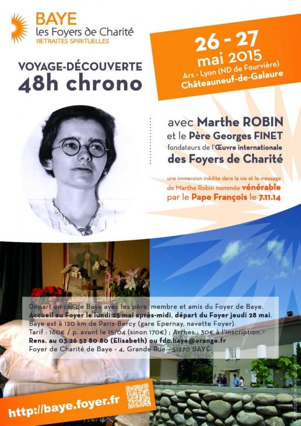Voyage-découverte chez Marthe ROBIN et P. Georges Finet
