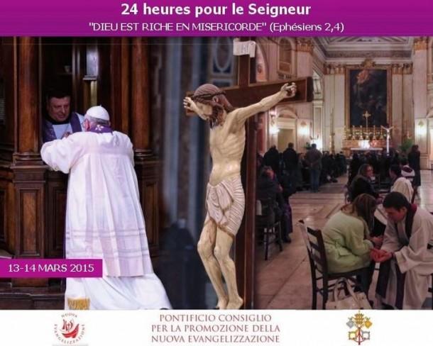 24h pour le Seigneur les 13-14 mars 2015