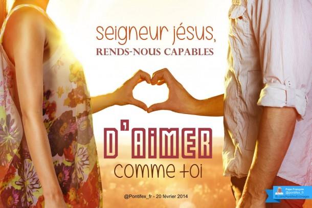 WE spirituel – récollection pour couples et familles « La joie de l'amour »