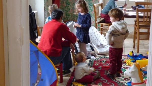 Notre maison familiale rénovée et apprêtée pour le 1er WE de l'année avec enfants