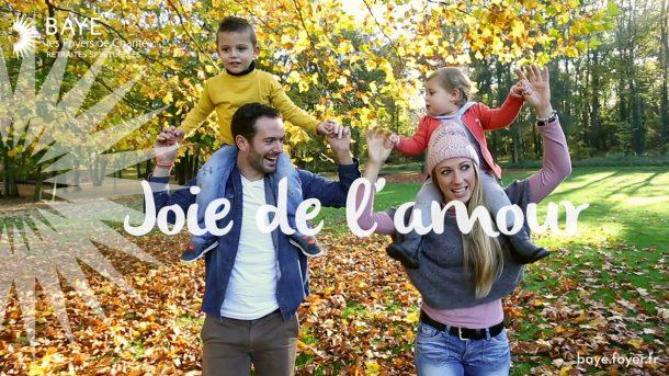 La joie de l'Amour – Week-end spirituel couples et enfants