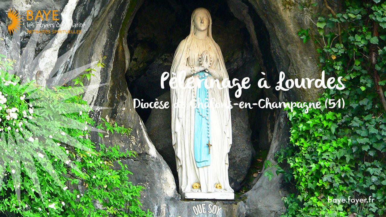 Pèlerinage à Lourdes avec le diocèse de Châlons-en-Champagne (51)