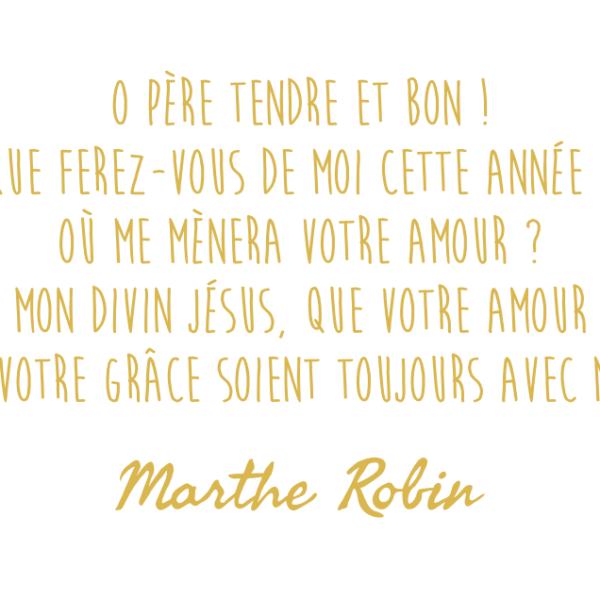 Voeux Foyer de Charité Marthe Robin